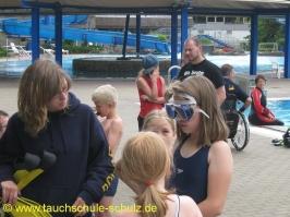 Schnuppertauchen Ferienspass Uelzen 2010